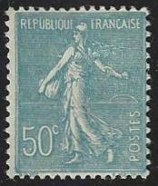 France #147 Mint Hinged Single (H3)