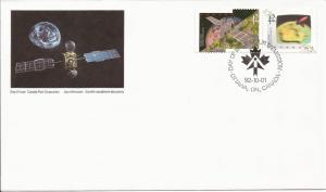1992 Canada FDC Sc 1442a - Canada in Space