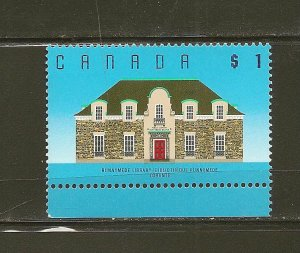 Canada 1181 Runnymede Library $1.00 Issue MNH