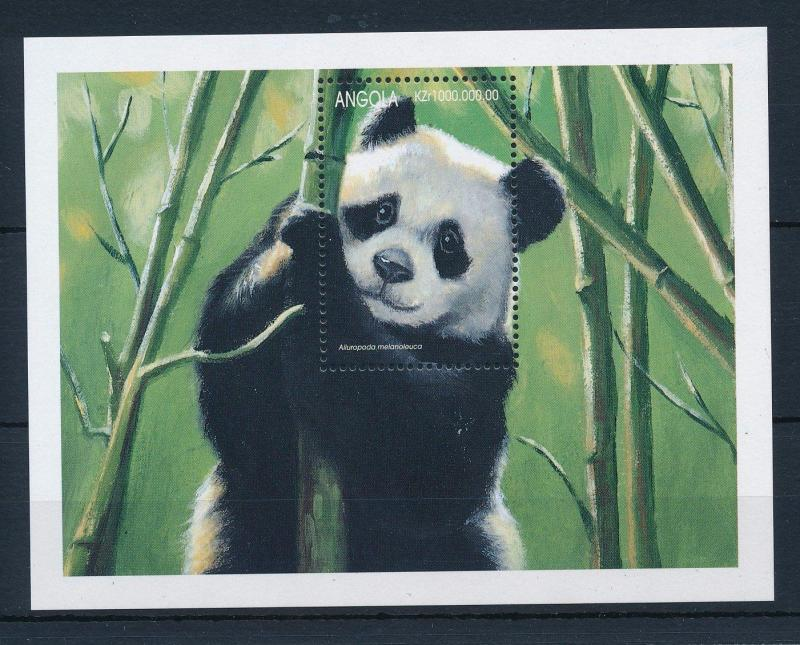 [31188] Angola 1999 Wild animals Mammals Giant Panda MNH Sheet