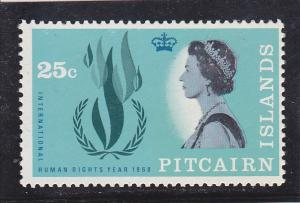 Pitcairn Islands  Scott#  90  MNH