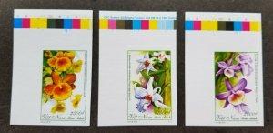 *FREE SHIP Vietnam Orchids 2013 Flowers Plant Flora (stamp color) MNH *imperf
