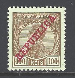 Cape Verde Sc # 107 mint hinged (RS)