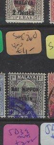 MALAYA JAPANESE OCCUPATION PERAK  (P2212B)  DNY  1C  SG J260     VFU