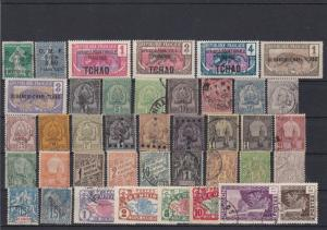 French Colonies Mixed Collectable Stamps Ref 27850