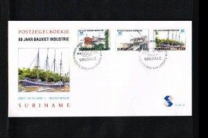 1996 - Rep. Surinam FDC E201B - Industries - Mining (ore) - 80 years Suralco ...