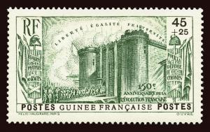 FRENCH GUINEA Scott #B3 1939 Paris Bastille mint HR