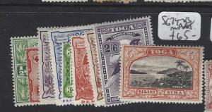 TONGA (P0605BB)  SG 74-83   MNH