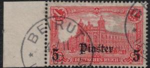 Germany Offices in Turkey 1905 SC 39 Used SCV$ 45.00