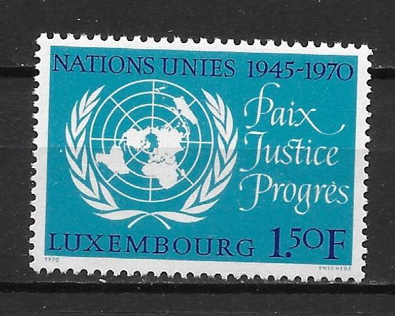 Luxembourg 494 1970 25th UN NH
