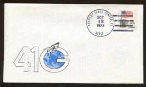 Rockwell International Space Division 1984 Kennedy Space Center Florida Cover
