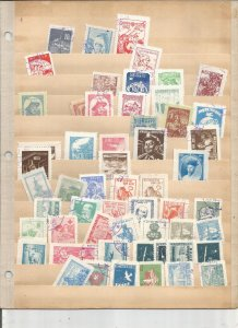 NORTH KOREA 1950'S COLLECTION, MINT/USED