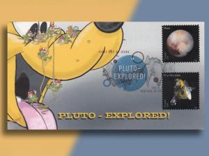 Little Bugs Explore the Wrong Pluto!  Bennett Cachetoon FDC with DCP!
