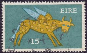 Ireland - 1975 - Scott #356 - used - Winged Ox