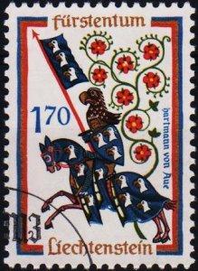 Liechtenstein. 1963 1f70 S.G.431 Fine Used