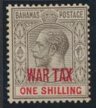 Bahamas SG 99 opt WAR TAX  SC#MR8  MH see details