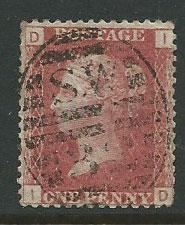 Great Britain - QV SG 43 plate 74
