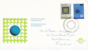 Netherlands 1970 Interparliamentary Union-United Nations 25th ann FDC VGC No.107