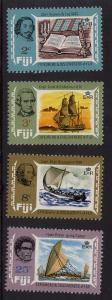 Fiji 2016 Scott #293-296 Mint VF-NH 1970 Explorers Complete Cat. $4.50
