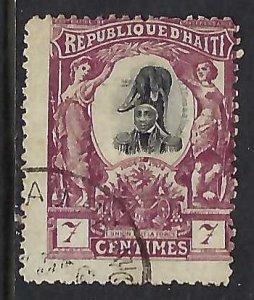 Haiti 85 VFU Z2939-3
