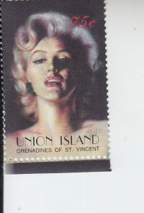 2004 Union Is St Vincent Marilyn Monroe  (Scott 280) MNH