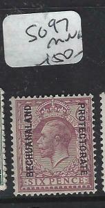 BECHUANALAND  (PP1904B)  KGV ON GB 6 D  SG  97   MNH