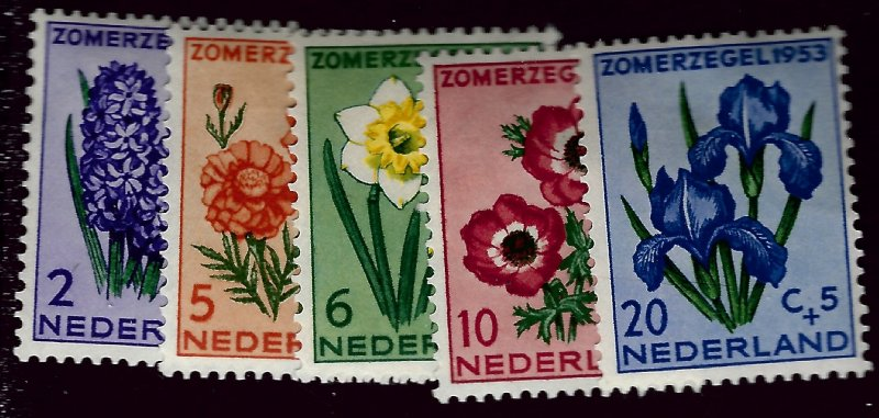 Netherlands  SC B249 =253 Mint F-VF Cat $25.25...Bid to WIN!!