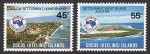 Cocos Islands Scott 119-120