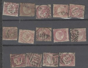 COLLECTION LOT # 2217 GREAT BRITAIN #58 1870 CV+$300 SOME FAULTY
