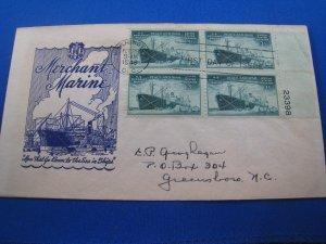 U.S. 1946 - SCOTT #939  PB  FDC