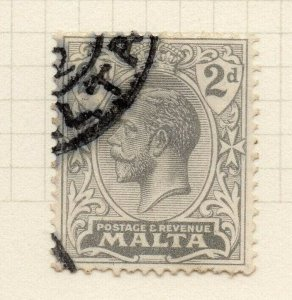 Malta 1921-22 Early Issue Fine Used 2d. 321551