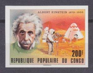 1979 Congo Brazzaville 697b Nobel laureates / Albert Einstein 10,00 €