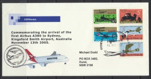 Aviation – Arrival of the First A380  - to Sydney Kingsford Smith Airport 2005