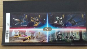 Great Britain 2019 Star Wars Vechicles Mint