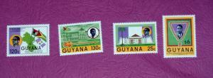 Guyana - 1505-8, MNH Set - President. SCV - $3.05