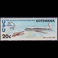 BOTSWANA 1974 - Scott# 113 UPU Cent. 20c NH