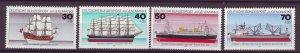J25191 JLstamps 1977 germany set mnh #b538-41 ships