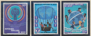 Benin Stamps Scott #420 To 422, Mint Never Hinged - Free U.S. Shipping, Free ...