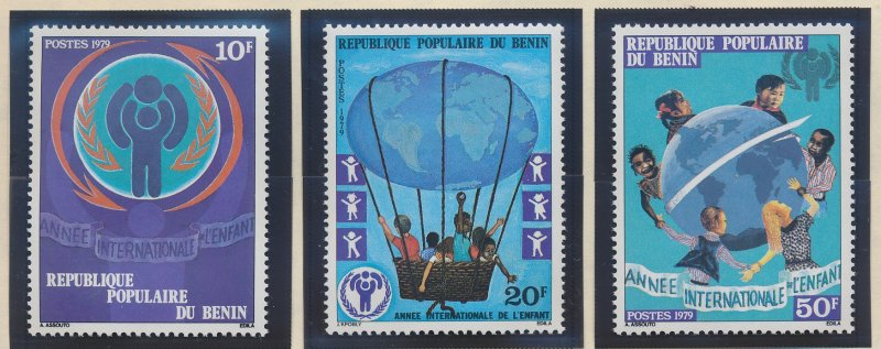 Benin Stamp Scott #420 To 422, Mint Never Hinged - Free U.S. Shipping, Free W...