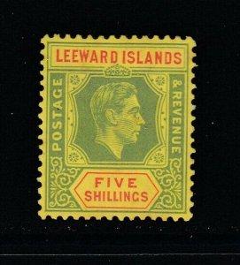 Leeward Islands, Sc 113a (SG 112), MHR (barest trace of gum toning)