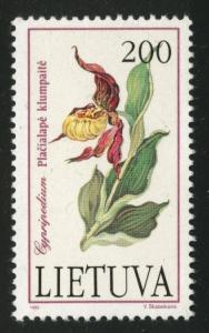 LITHUANIA LIETUVA Scott 425  MH*  flowerl stamp