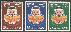 QATAR SCOTT 256-258