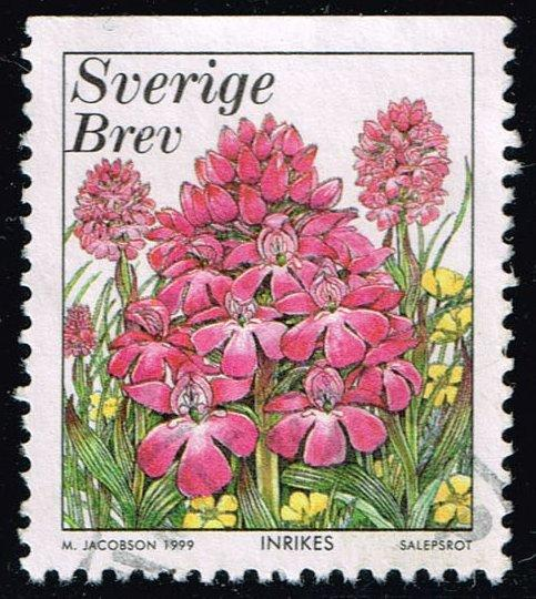 Sweden #2343 Pyramid Orchid; Used (0.40)