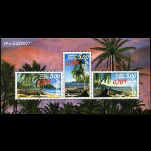 MAYOTTE 1999 - Scott# 129 S/S Pirogues NH