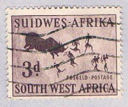 South West Africa 251 Used Rock Painting 1954 (BP26325)