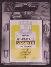 Scott Mounts Clear 50/31, (pkg 40)(00907C)