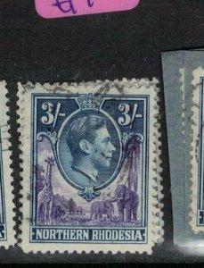 Northern Rhodesia SG 42 VFU (7enc)