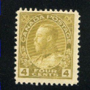 Canada 110   Mint  F 1911-25   PD