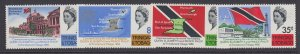 Trinidad & Tobago, Scott 119-122 (SG 313-316), MNH