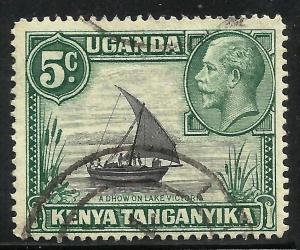 Kenya, Uganda, Tanzania 1935 Scott# 47 Used